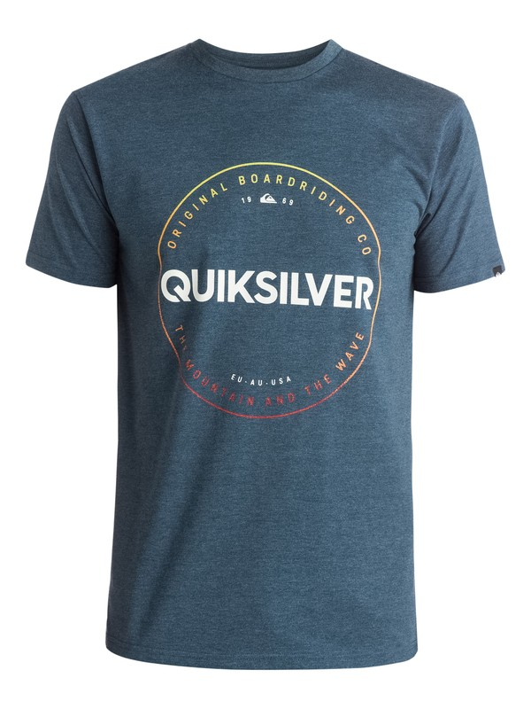 0 Heather Timepiece - T-shirt  EQYZT03663 Quiksilver