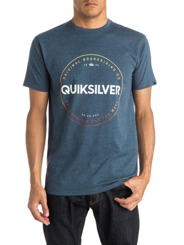 0 Heather Timepiece - T-shirt  EQYZT03663 Quiksilver