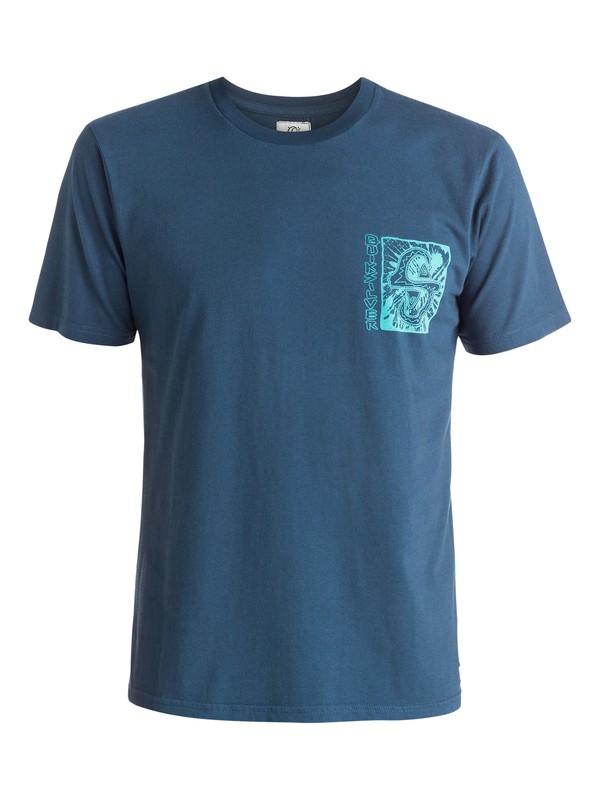 0 White Light - T-shirt Bleu EQYZT03669 Quiksilver