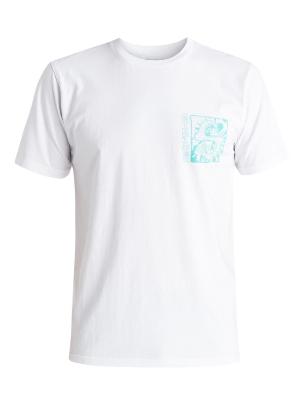 0 White Light - T-shirt Blanc EQYZT03669 Quiksilver