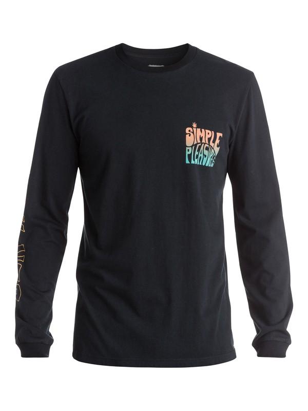 0 Simple Pleasures - T-shirt manches longues  EQYZT03670 Quiksilver
