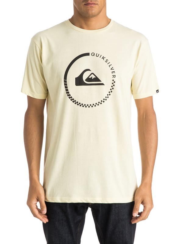 0 Classic Active Check - T-shirt  EQYZT03676 Quiksilver