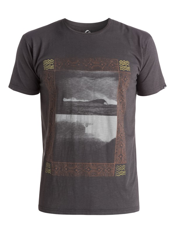 0 Slub Split Screen - T-shirt  EQYZT03687 Quiksilver