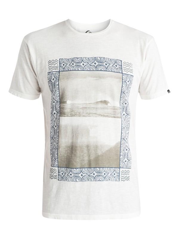 0 Slub Split Screen - T-shirt Blanc EQYZT03687 Quiksilver