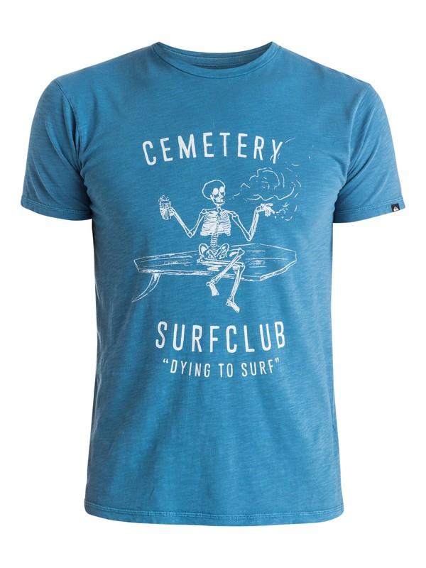 0 Slub Cemetery - T-shirt  EQYZT03689 Quiksilver