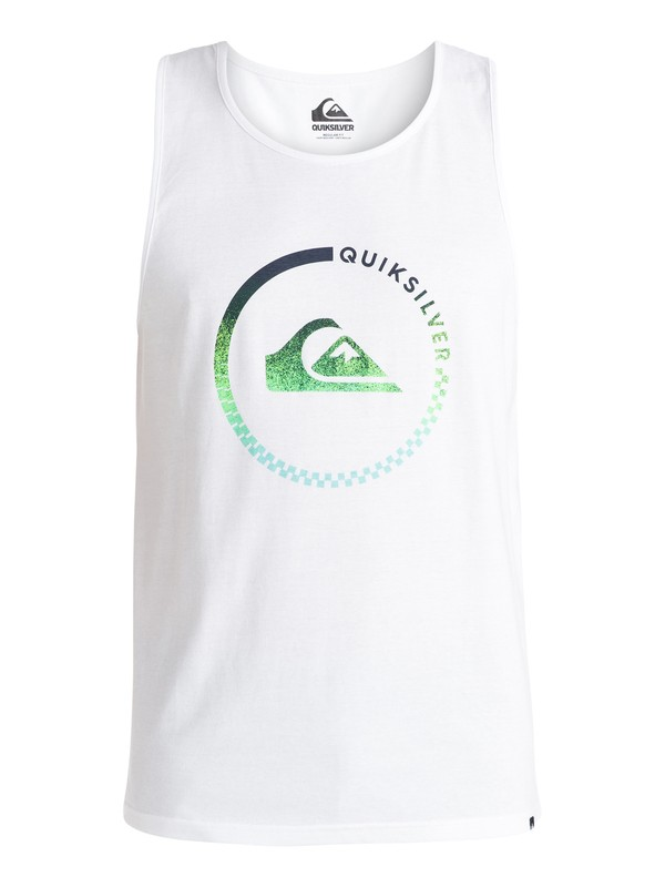 0 Classic Everyday Active - Top sans manches Blanc EQYZT03695 Quiksilver