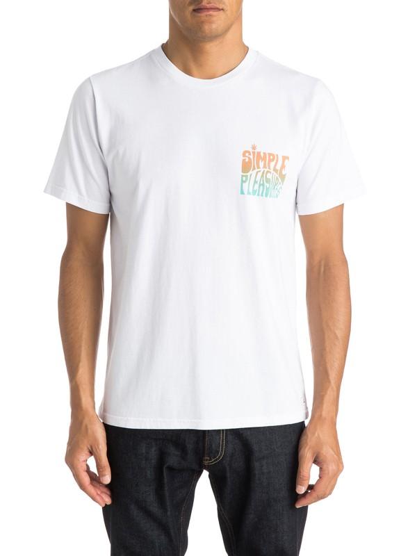 0 Simple Pleasures - T-shirt  EQYZT03701 Quiksilver