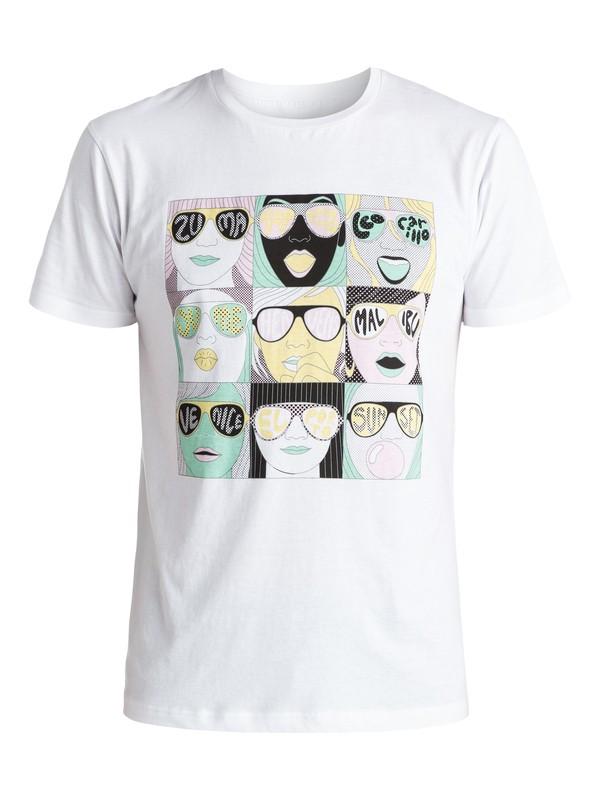 0 Spot Check - T-shirt  EQYZT03736 Quiksilver