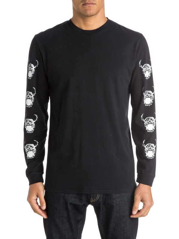 0 Old Faithful Long Sleeve T-Shirt  EQYZT03773 Quiksilver