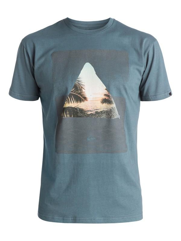 0 Classic Sintra Beach - Tee-Shirt Bleu EQYZT03895 Quiksilver