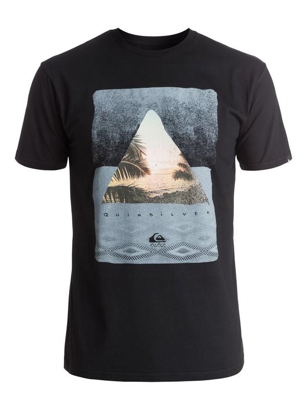 0 Classic Sintra Beach - Tee-Shirt Noir EQYZT03895 Quiksilver