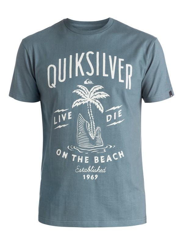 0 Classic Shark Island - Tee-Shirt  EQYZT03904 Quiksilver