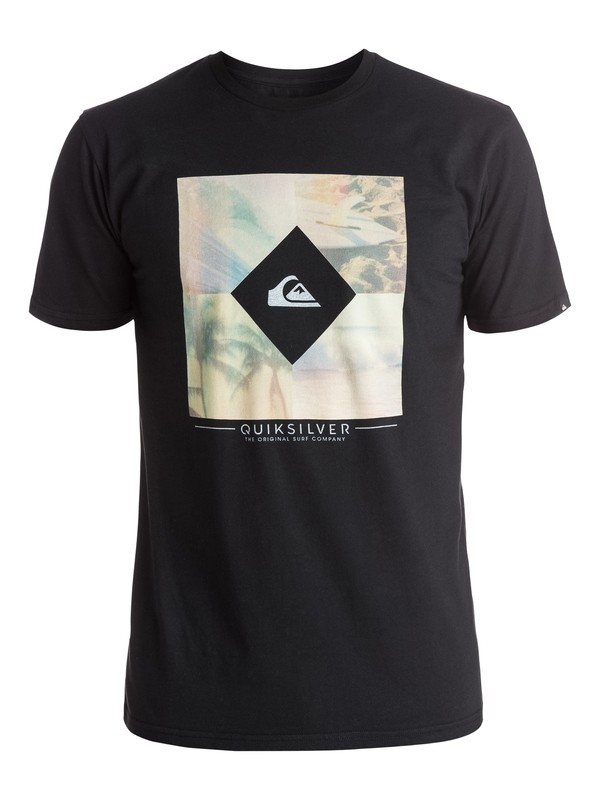 0 Classic Diamond Days - Tee-Shirt  EQYZT03907 Quiksilver