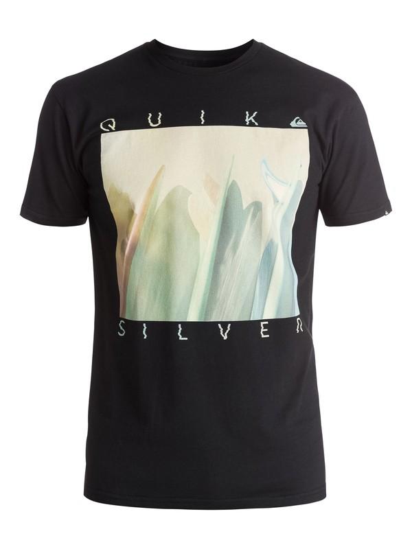 0 Classic Mug Shot - Tee-Shirt Noir EQYZT03909 Quiksilver