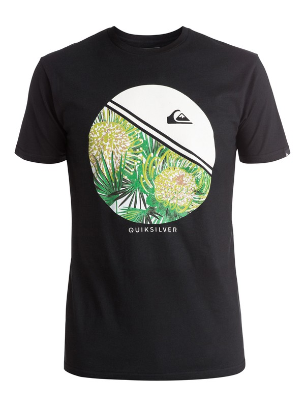 0 Classic Free Wheelin - Tee-Shirt Noir EQYZT03923 Quiksilver