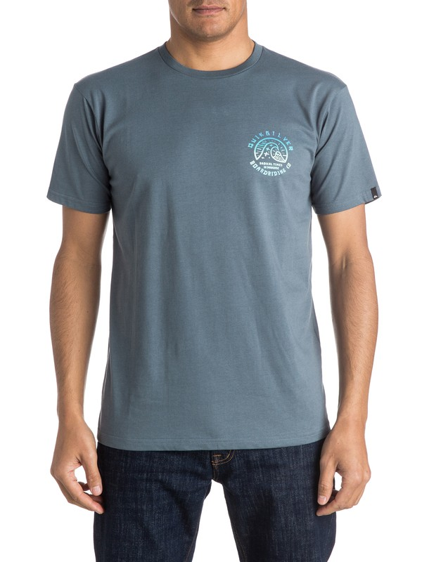 0 Classic Faded Times - Tee-Shirt  EQYZT03928 Quiksilver