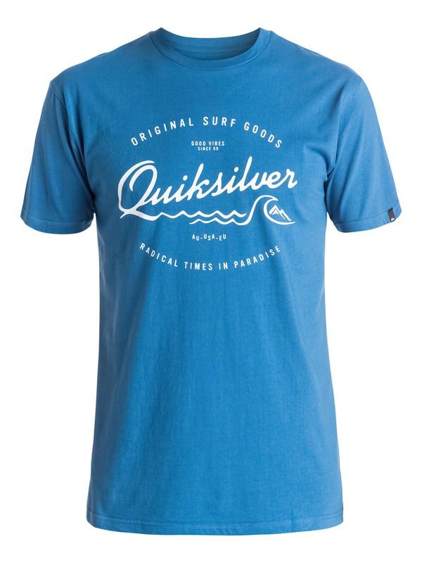 0 Classic West Pier - Tee-Shirt  EQYZT03934 Quiksilver