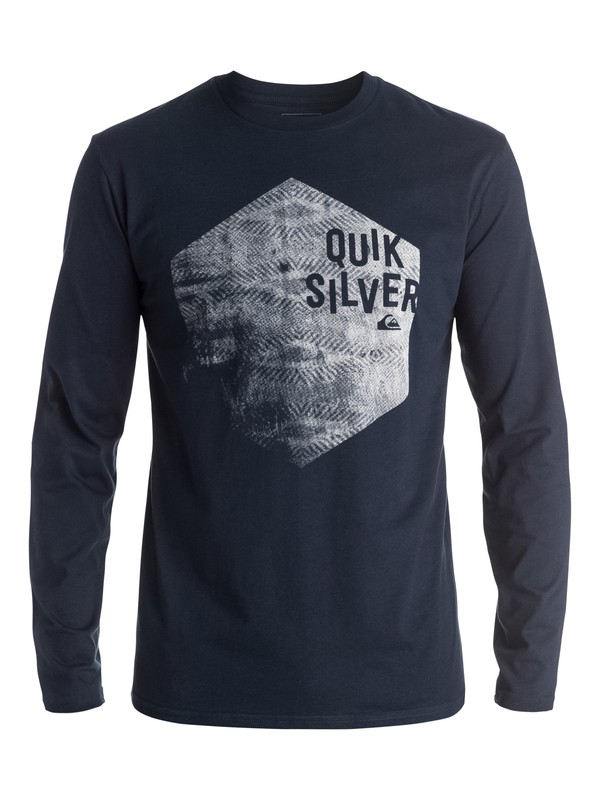 0 Classic Jumbled Hex - Tee-Shirt à manches longues  EQYZT03936 Quiksilver