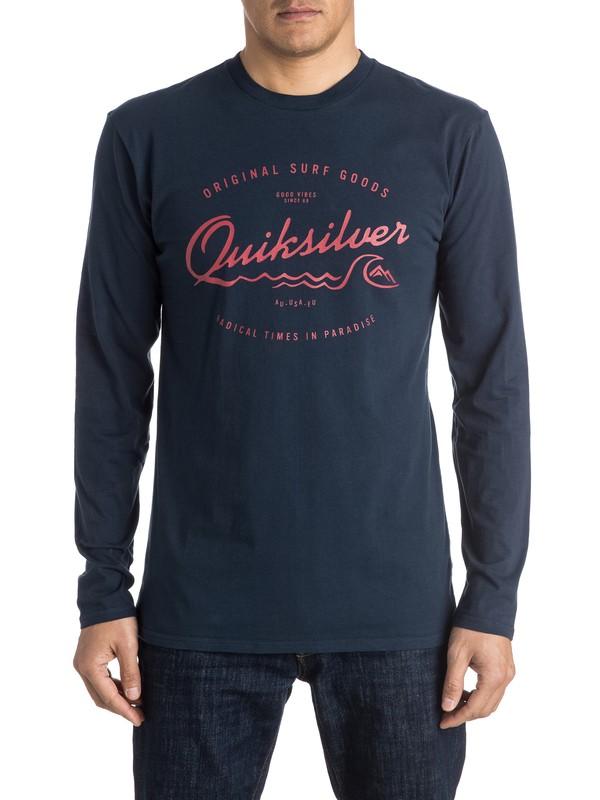 0 Classic West Pier - Tee-Shirt à manches longues  EQYZT03939 Quiksilver