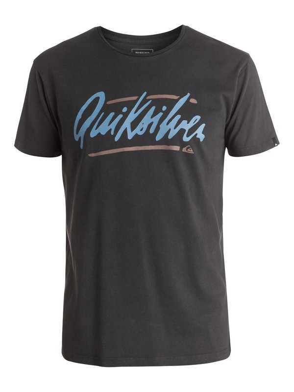 0 Specialty Loose Script - Tee-Shirt Noir EQYZT03941 Quiksilver
