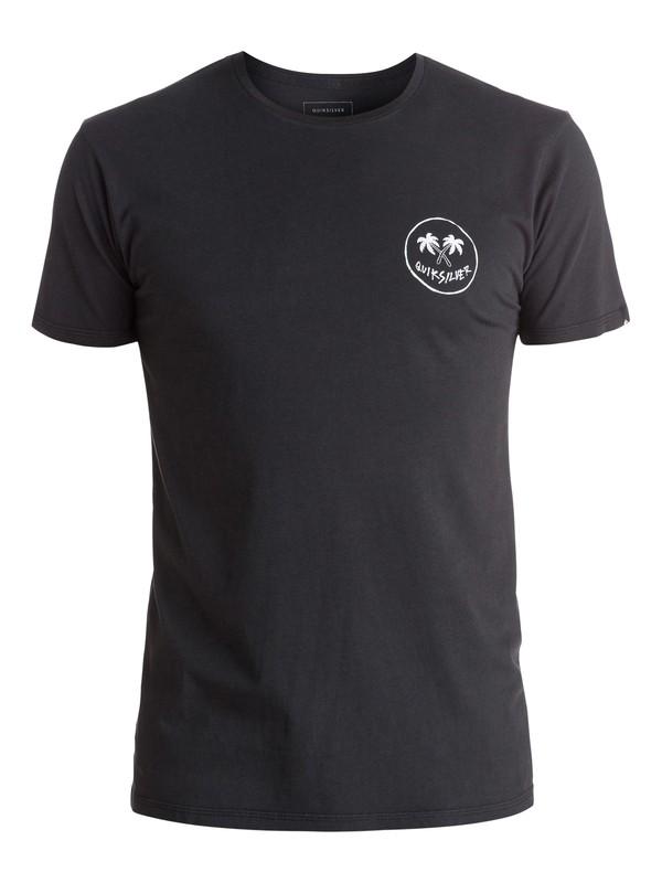 0 Reaper Island - Tee-Shirt Noir EQYZT03943 Quiksilver
