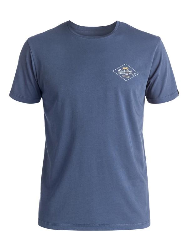 0 Volcano - Tee-Shirt Bleu EQYZT03944 Quiksilver