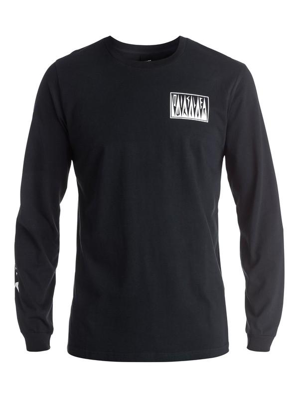 0 PM Afro Logo - Tee-Shirt à manches longues  EQYZT03952 Quiksilver