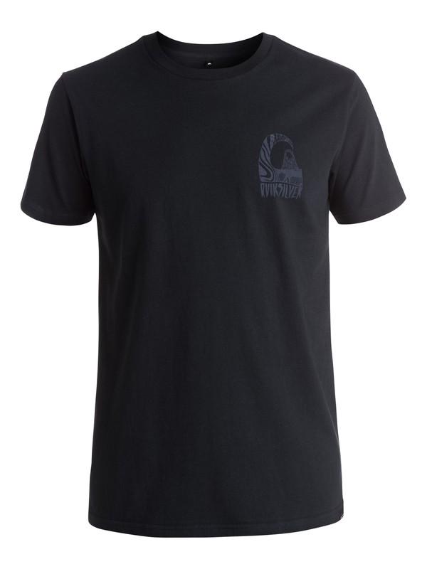 0 Tribal - Tee-Shirt Noir EQYZT03953 Quiksilver