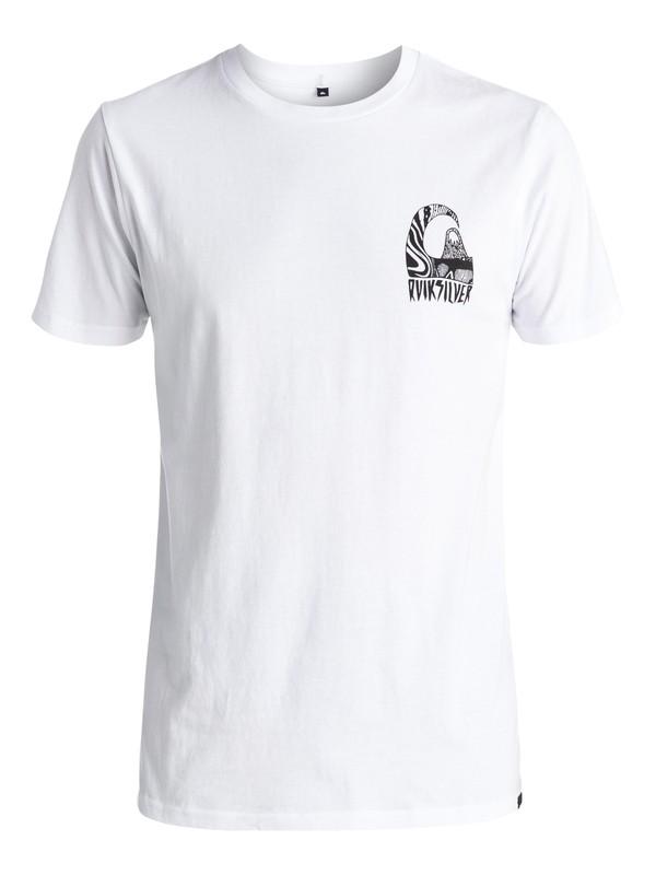 0 Tribal - Tee-Shirt Blanc EQYZT03953 Quiksilver