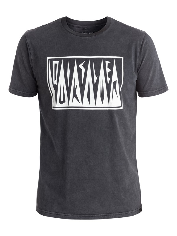 0 PM Afro Logo - Tee-Shirt Noir EQYZT03955 Quiksilver