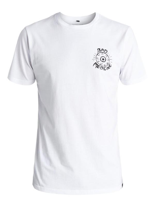 0 PM Bad Medicine - Tee-Shirt Blanc EQYZT03956 Quiksilver