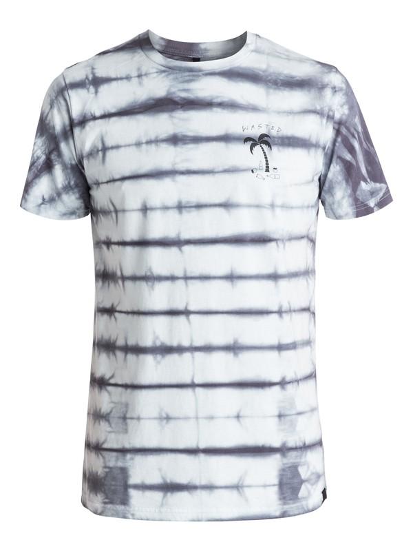 0 Wasting Time - Tee-Shirt Bleu EQYZT03957 Quiksilver