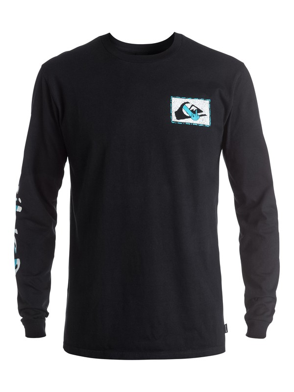 0 AM Upper Class - Tee-Shirt à manches longues  EQYZT03962 Quiksilver