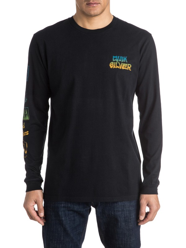 0 AM Side Track Long Sleeve Tee  EQYZT03963 Quiksilver