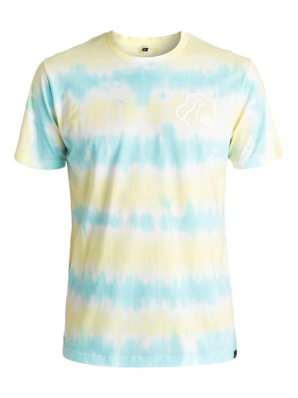 0 AM Good Vibes - Tee-Shirt Vert EQYZT03964 Quiksilver