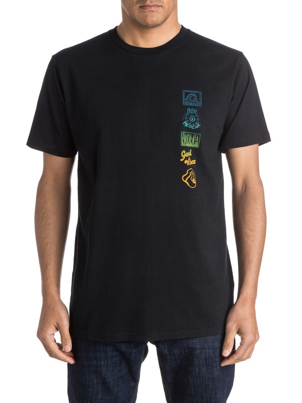 0 AM Side Track Tee  EQYZT03966 Quiksilver