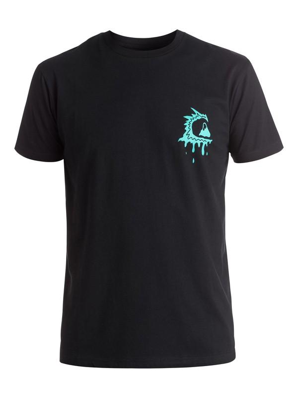 0 AM Bite Me - Tee-Shirt Noir EQYZT03968 Quiksilver