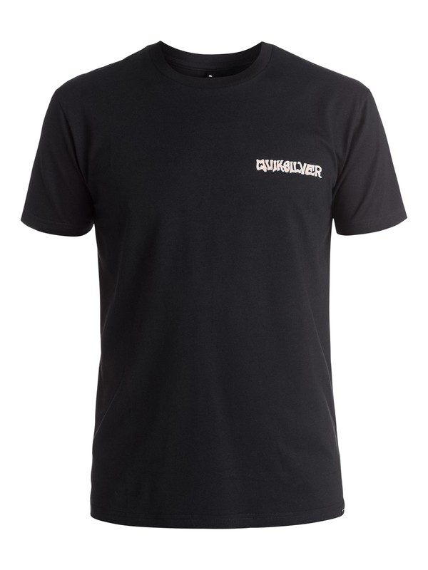 0 AM Peace Pipe - Tee-Shirt Noir EQYZT03969 Quiksilver