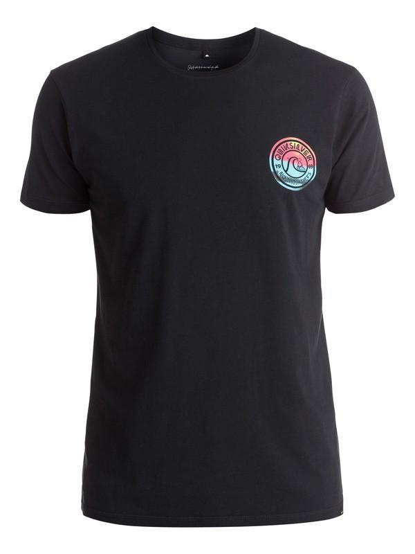 0 Logo Zing Zang - Tee-Shirt Noir EQYZT03972 Quiksilver