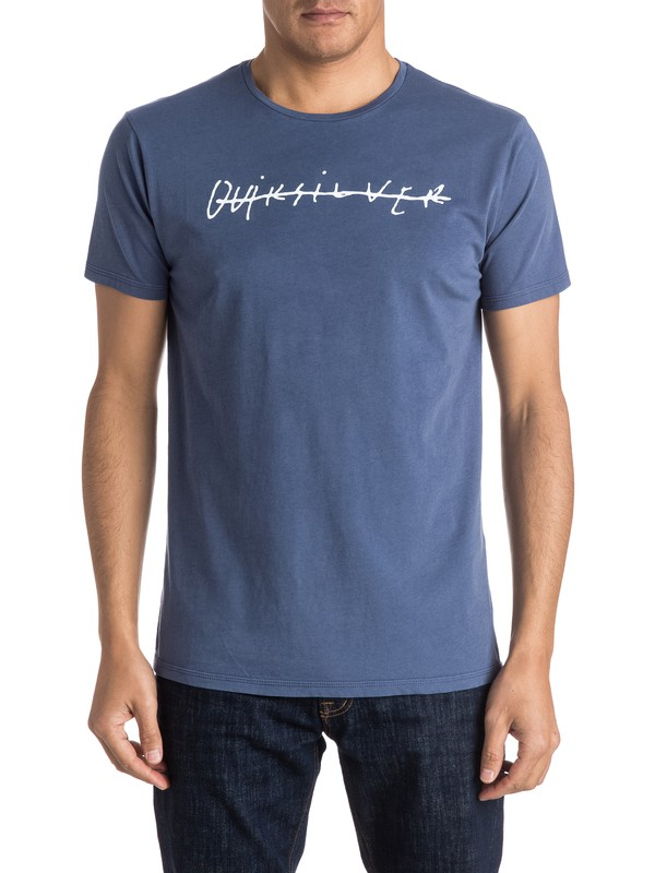 0 Logo Quik Signature - Tee-Shirt  EQYZT03974 Quiksilver