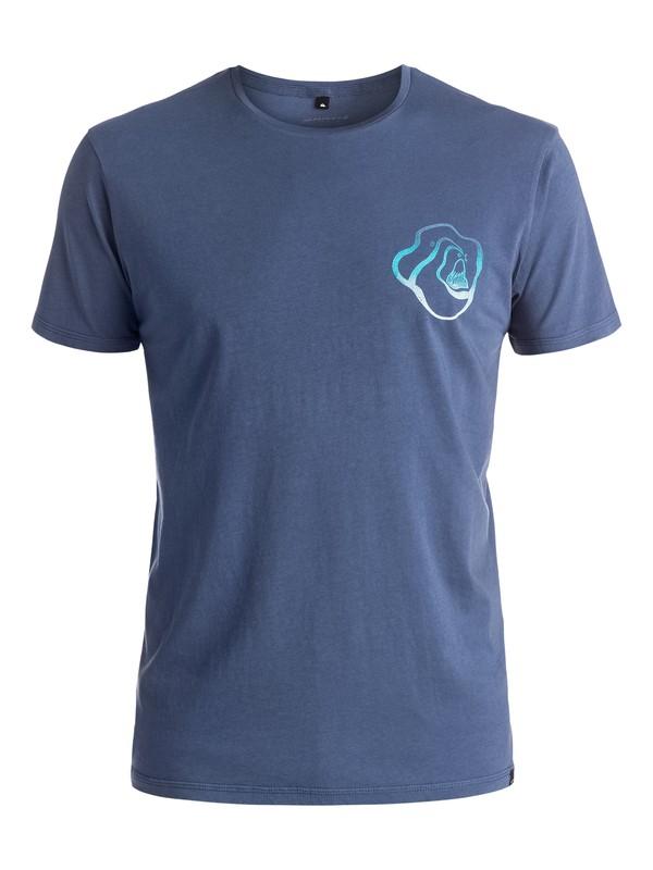 0 Warped Logo - Tee-Shirt  EQYZT03975 Quiksilver