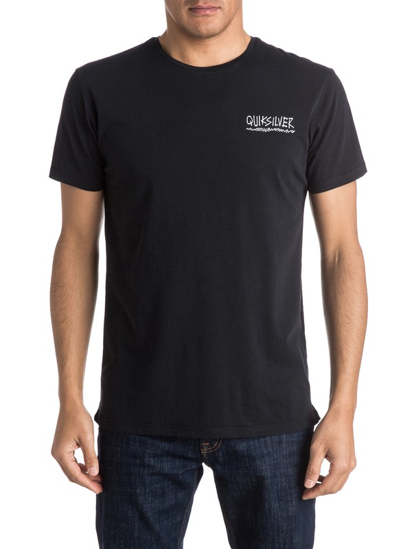 0 Logo Mountain Wave - Tee-Shirt  EQYZT03976 Quiksilver