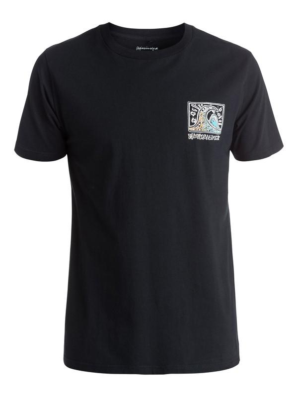 0 Fine Art - Tee-Shirt Noir EQYZT03995 Quiksilver