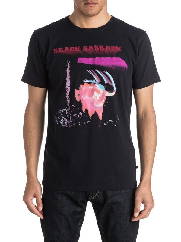 0 Quiksilver X Universal Black Sabbath Paranoid T-Shirt  EQYZT04131 Quiksilver