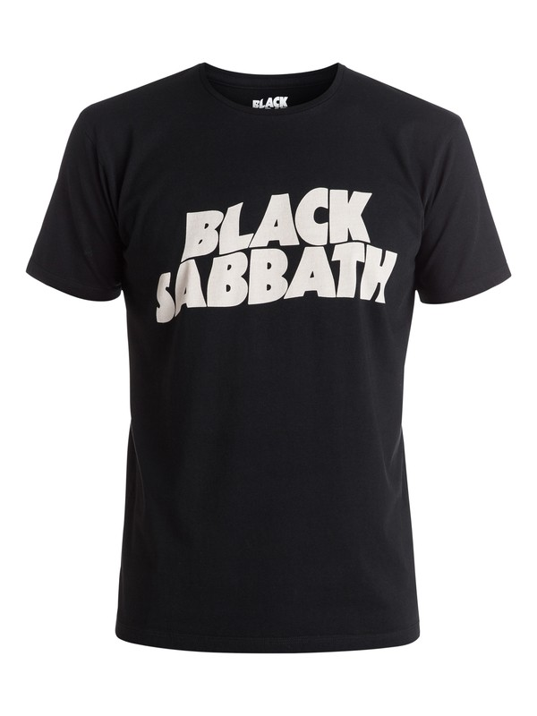 0 Quiksilver Music Collab Black Sabbath Classic - Tee-shirt Noir EQYZT04132 Quiksilver