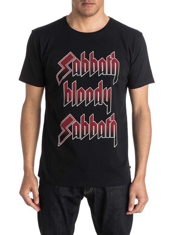 0 Quiksilver X Universal Sabbath Bloody Sabbath T-Shirt  EQYZT04133 Quiksilver