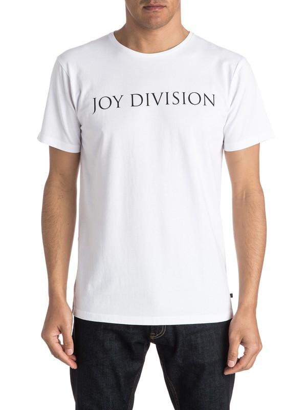 0 Quiksilver X Universal Joy Division Logo T-Shirt  EQYZT04134 Quiksilver