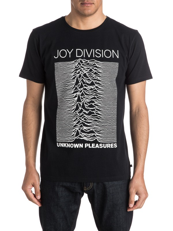 0 Quiksilver X Universal Joy Division Unknown Pleasures T-Shirt  EQYZT04135 Quiksilver