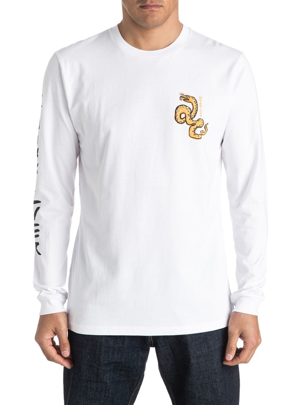 0 Time Frame Long Sleeve Tee  EQYZT04151 Quiksilver