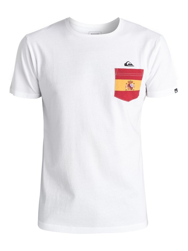 0 Spanish Team - Tee-shirt  EQYZT04197 Quiksilver